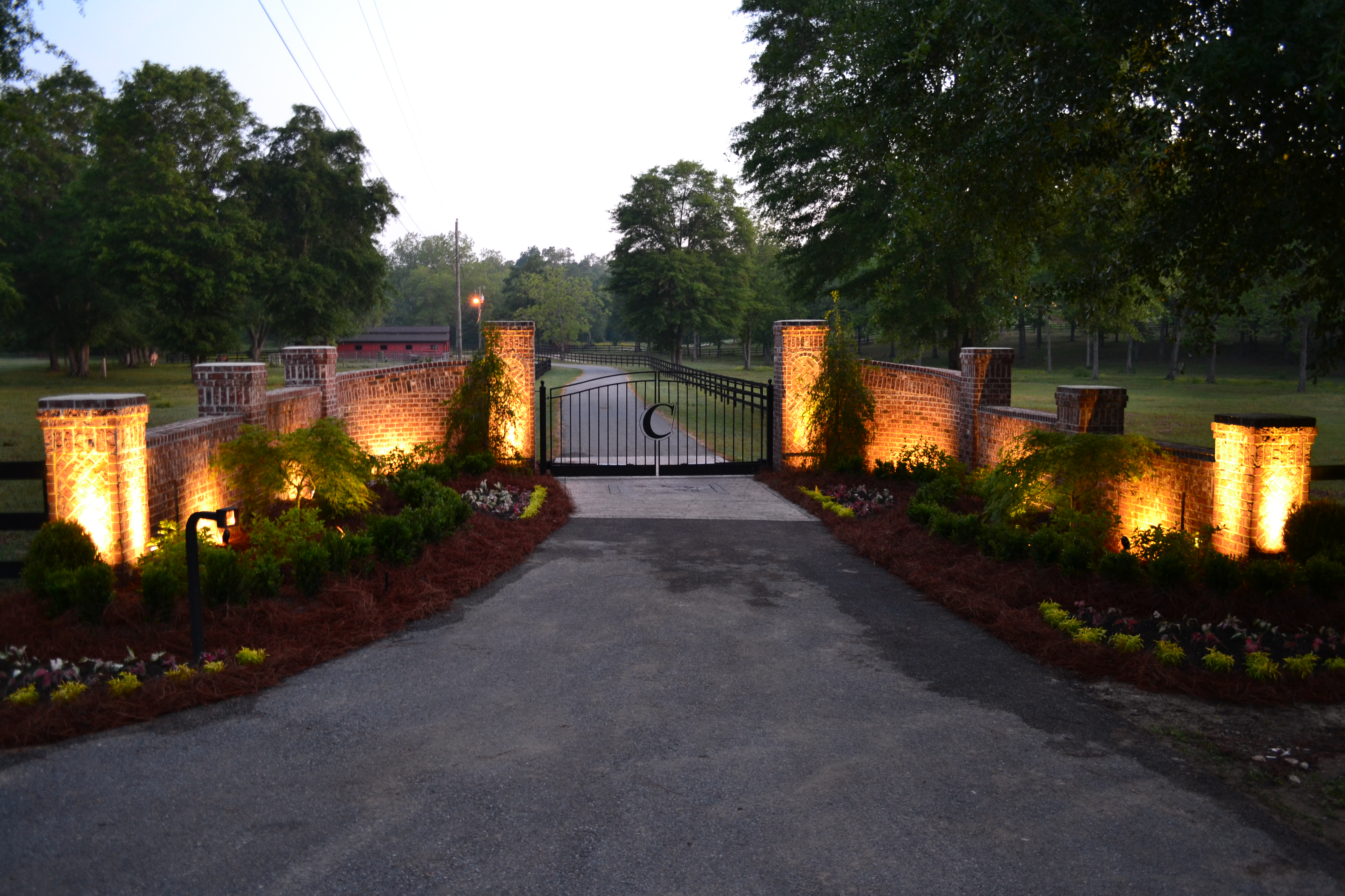 Macon Ga Landscape And Exterior Lighting. LawnWorks ...