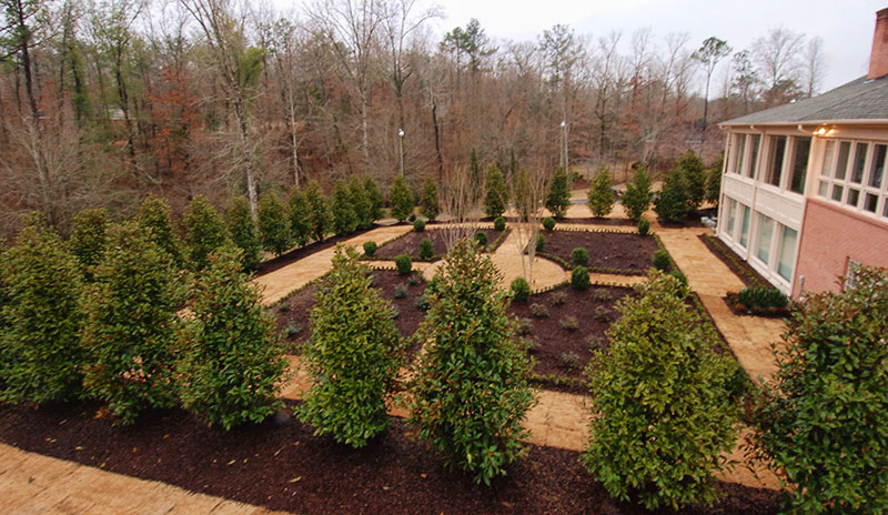 four season parterre garden design