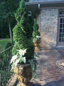 macon, ga landscape planters